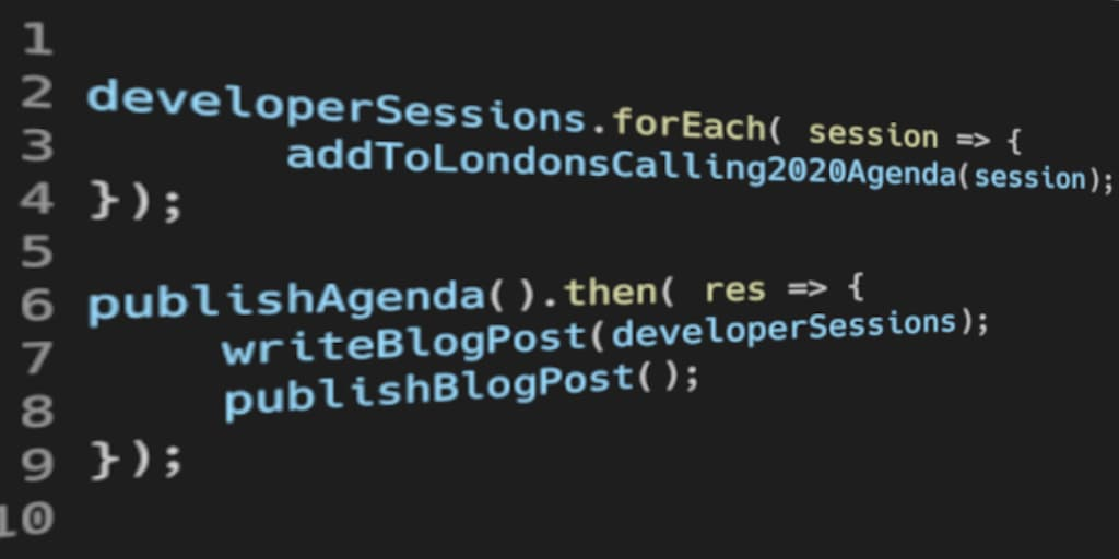 Announcing the London's Calling 2020 Developer Track