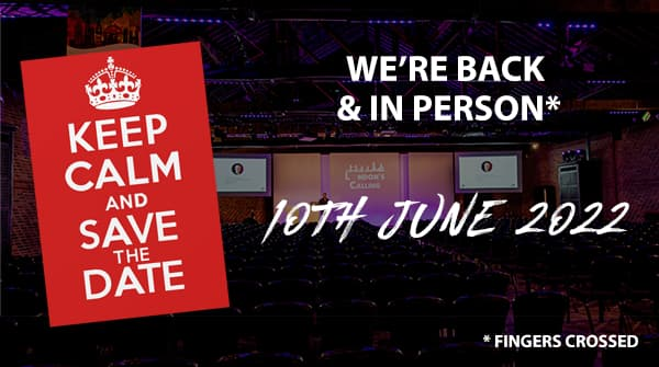 Save the Data - London's Calling, 10th June 2022